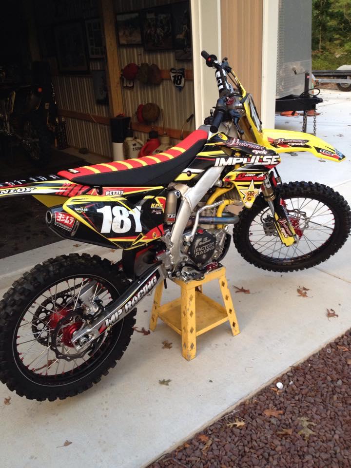 Custom Motocross Seat Covers Velcromag
