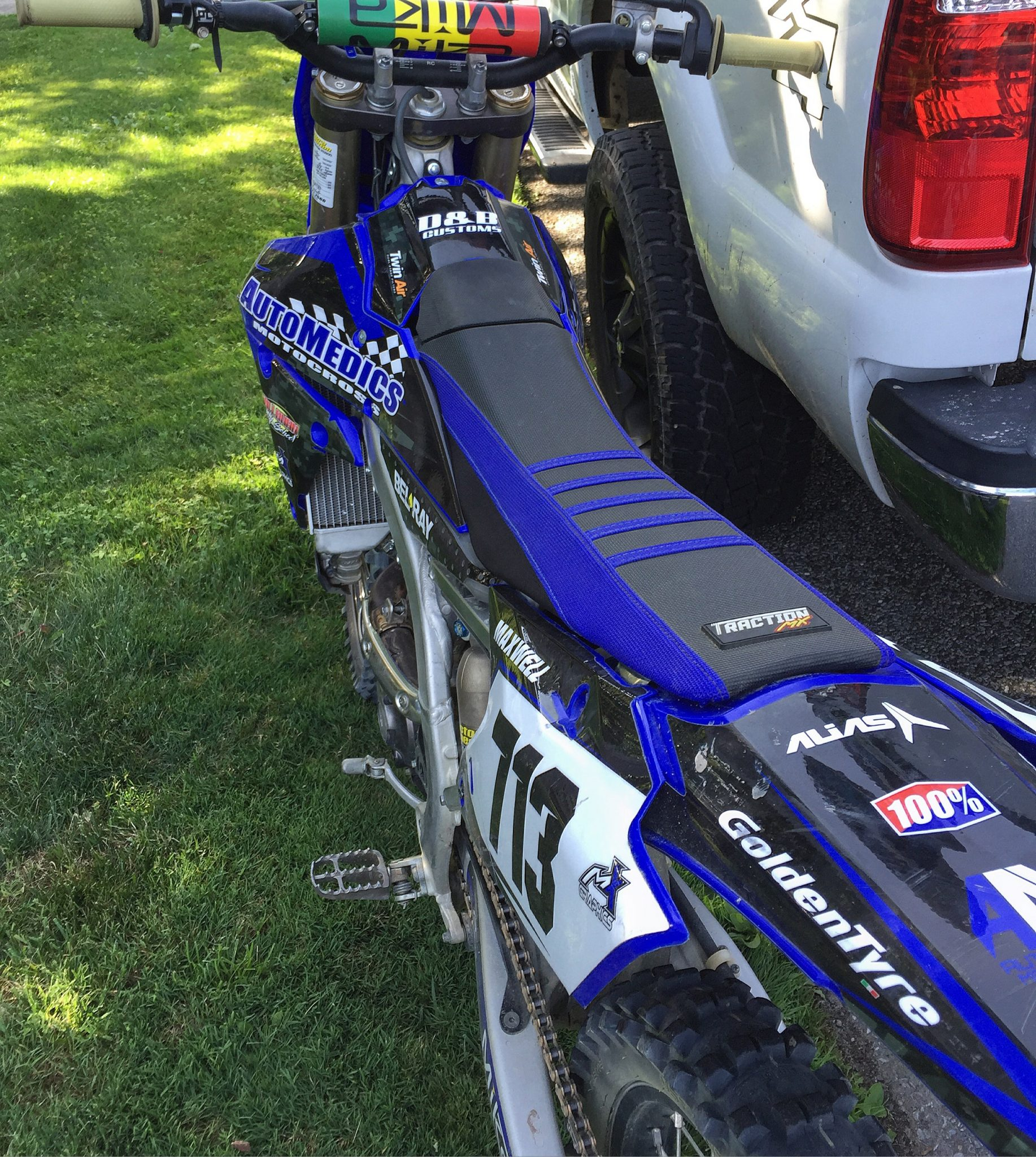 Yz 250 2019 >> MEDIA - Traction MX- Custom Gripper Seat Covers