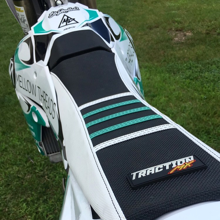 Traction MX- Custom Gripper Motorcycle Seat Covers for Dirt